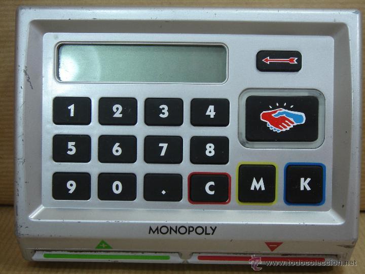 Unidad De Banquero Electronica Monopoly Elect Comprar Juegos De