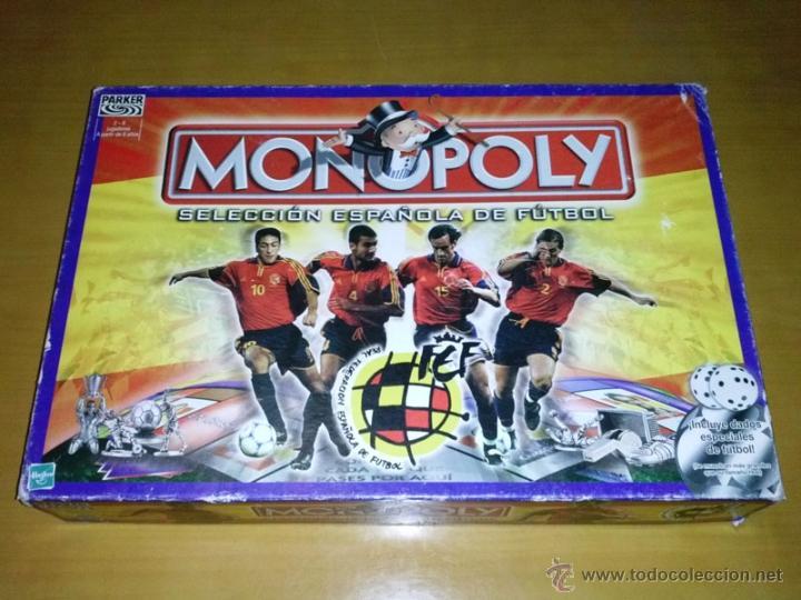 Juego De Mesa Monopoly Seleccion Espanola De Fu Comprar Juegos De