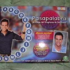 Juegos de mesa: PASAPALABRA JUEGO DE MESA DEL PROGRAMA PASA PALABRA.. Lote 39931014