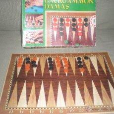 Juegos de mesa: BACKGAMMON Y DAMAS EDUCA . . Lote 39968898