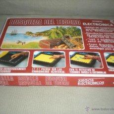 Juegos de mesa: BUSQUEDA DEL TESORO . JUEGOS ELECTRONICOS JUYPA SA . Lote 39969564