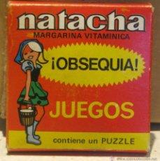 Juegos de mesa: OBSEQUIO MARGARINA NATACHA AÑOS 60-70. Lote 40051318