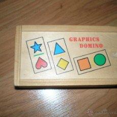 Juegos de mesa: DOMINO INFANTIL GRAPHICS DOMINO. Lote 67517149