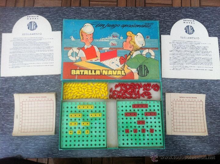 Antiguo Juego Batalla Naval De Vilpa Anos 60 Comprar Juegos De