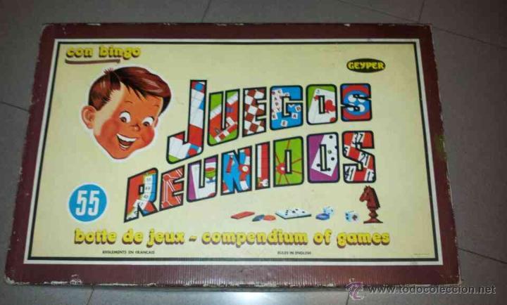 Juegos Reunidos De Geyper 55 Juegos Comprar Juegos De Mesa