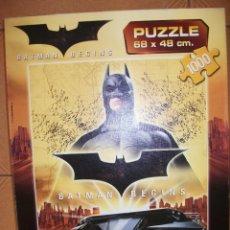 Juegos de mesa: PUZZLE BATMAN BEGINS - 1000 PIEZAS - 68X48 - EDUCA. Lote 43868684