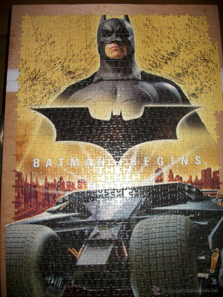 Juegos de mesa: PUZZLE BATMAN BEGINS - 1000 PIEZAS - 68X48 - EDUCA - Foto 2 - 43868684