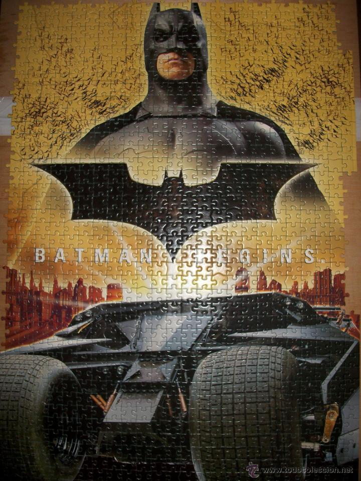 Juegos de mesa: PUZZLE BATMAN BEGINS - 1000 PIEZAS - 68X48 - EDUCA - Foto 3 - 43868684