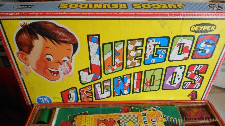 35 Juegos Reunidos Geyper Comprar Juegos De Mesa Antiguos En