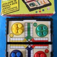 Juegos de mesa: ANTIGUO MICRO PARCHIS MAGNETICO REGALO DE COLGATE. EN SU ESTUCHE DE CARTON. Lote 40287653