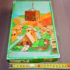 Juegos de mesa: CONSTRUMIN CONS TRU MIN JUEGO MESA CONSTRUCCION MADE IN SPAIN CERAMICA VER FOTOS. Lote 40308821