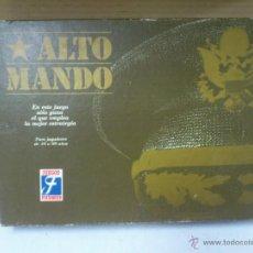 Juegos de mesa: ALTO MANDO DE JUEGOS FOURNIER. Lote 40400304