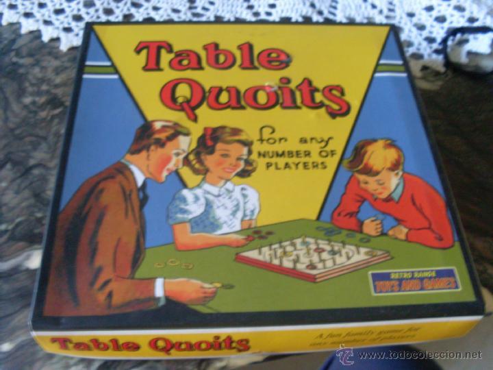 Table Quoits Retro 1930 S Ju1 Comprar Juegos De Mesa Antiguos En