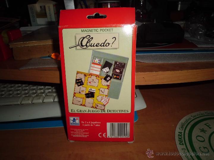 Juegos de mesa: cluedo ? juegos magneticos borras en su caja ver fotos - Foto 2 - 40544409