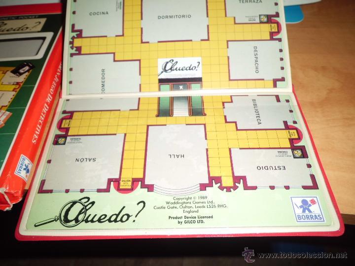 Juegos de mesa: cluedo ? juegos magneticos borras en su caja ver fotos - Foto 4 - 40544409