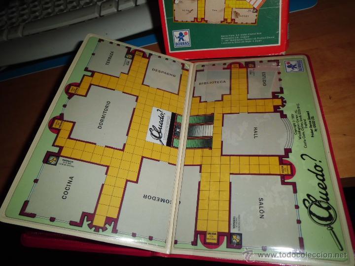 Juegos de mesa: cluedo ? juegos magneticos borras en su caja ver fotos - Foto 5 - 40544409