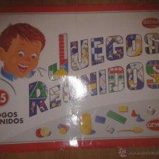 Juegos de mesa: JUEGOS REUNIDOS GEYPER 45 (BIZAK). Lote 40545849