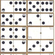 Juegos de mesa: DOMINÓ DE CARTÓN - COMPLETO - 7,7 * 3,9 CM - PRIMER TERCIO S. XX. Lote 40630629