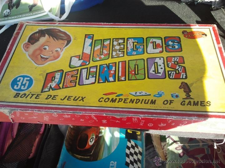 Juegos Reunidos Geyper Antiguo Anos 60 Comprar Juegos De Mesa