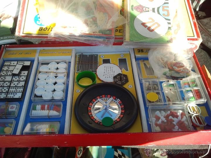 Juegos de mesa: juegos reunidos geyper antiguo años 60 - Foto 2 - 40697248