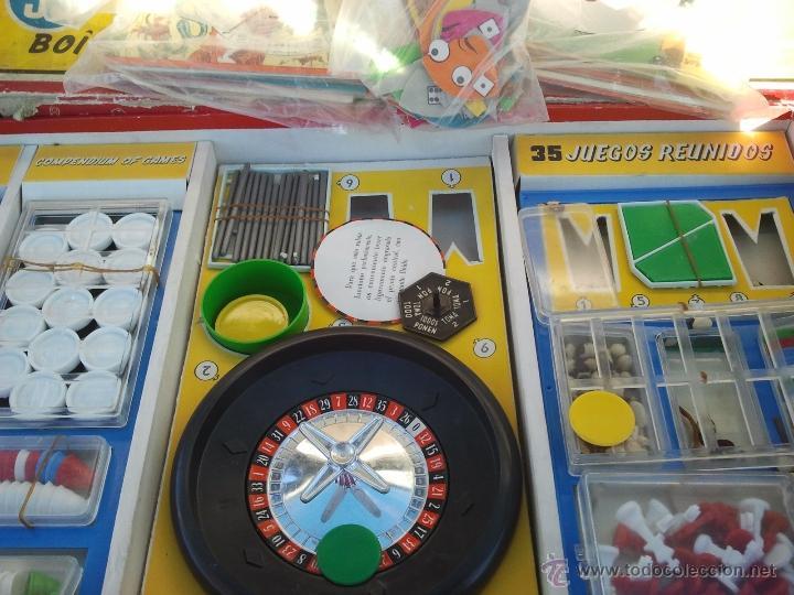 Juegos de mesa: juegos reunidos geyper antiguo años 60 - Foto 4 - 40697248