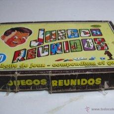 Juegos de mesa: CAJA ANTIGÜA JUEGOS REUNIDOS GEYPER. Lote 40704088