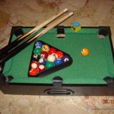 Juegos de mesa: BILLAR AMERICANO DE SOBREMESA. Lote 40716699
