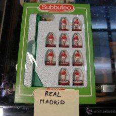 Juegos de mesa: SUBBUTEO 63000 SEGUNDA EQUIPACION REAL MADRID AÑOS 80. Lote 40725183