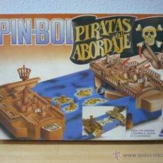 Juegos de mesa: JUEGO PIN BOL-AL ABORDAJE-CEFA AÑOS 80-A ESTRENAR. Lote 40747717
