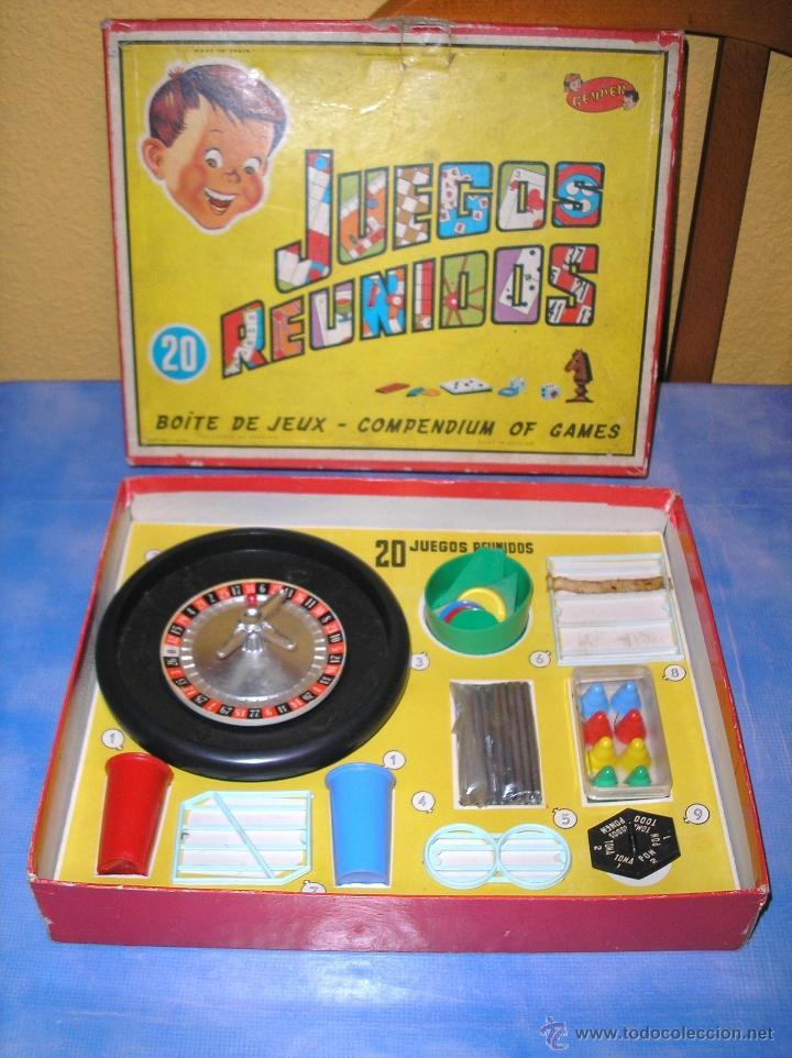 Juegos Reunidos Geyper 20 Ano 1964 Comprar Juegos De Mesa Antiguos