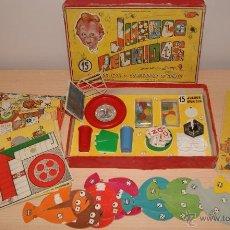Juegos de mesa: JUEGOS REUNIDOS Nº 15 DE GEYPER AÑOS 50-60? - USADO - JUEGO LENGUADOS, ETC. - VER FOTOS. Lote 195177748