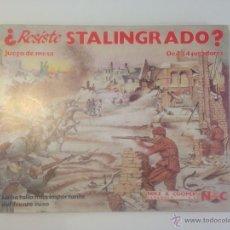 Juegos de mesa: JUEGO DE MESA WARGAME NAC RESISTE STALINGRADO. PERFECTO.. Lote 40833674