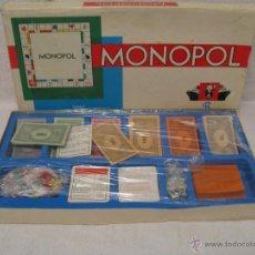 Juegos de mesa: JUEGO MONOPOL ( MONOPOLY) CON USO. Lote 40881197