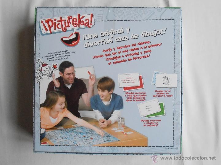 Juegos de mesa: JUEGO PICTUREKA DE PARKER COMPLETO Y EN - Foto 3 - 40923099