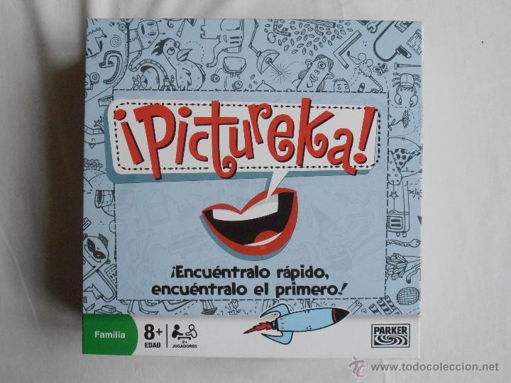 Juegos de mesa: JUEGO PICTUREKA DE PARKER COMPLETO Y EN - Foto 4 - 40923099