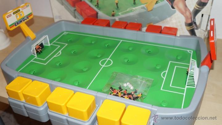 Exin gol nuevo a estrenar 1988 juego de futbol comprar for Juego de mesa de futbol