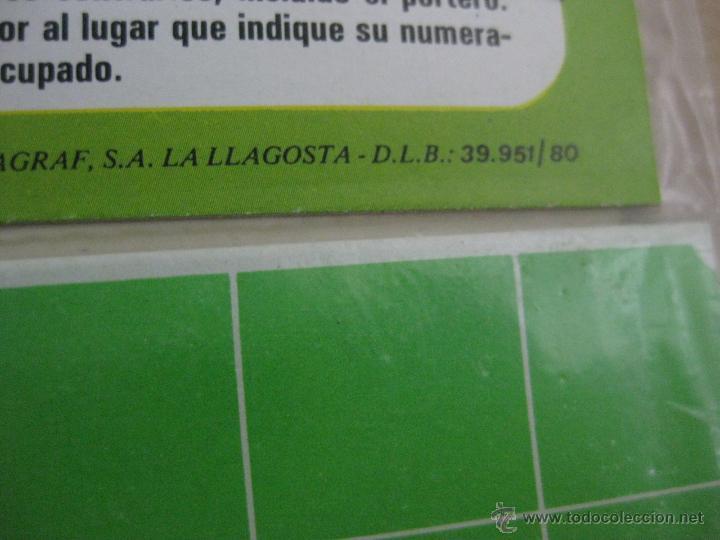 Juegos de mesa: DADO GOL FUTBOL - ED. RUIZ ROMERO, BARCELONA - JUEGO NUEVO PRECINTADO SIN ESTRENAR - AÑO 1980 - Foto 5 - 96833671