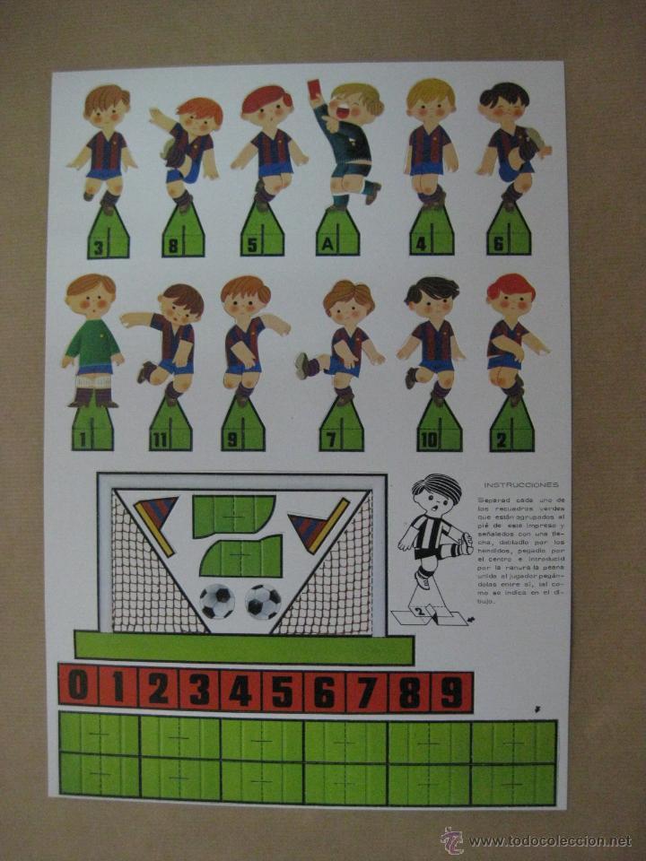 Juegos de mesa: DADO GOL FUTBOL - ED. RUIZ ROMERO, BARCELONA - JUEGO NUEVO PRECINTADO SIN ESTRENAR - AÑO 1980 - Foto 6 - 96833671