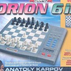 Juegos de mesa: COMPUTADORA AJEDREZ ORION. Lote 40974629