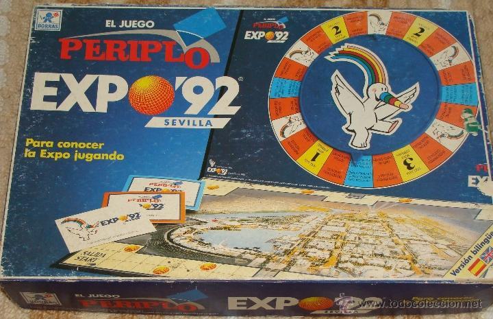 Juego De Mesa Tipo Trivial De La Expo 92 1992 D Comprar Juegos De