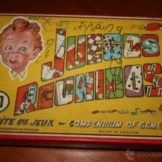 Juegos de mesa: JUEGOS REUNIDOS GEYPER. 10 JUEGOS, INCOMPLETO. MARCAS EN TAPA. 18 X 25 CMS.. Lote 87098703