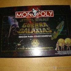 Juegos de mesa: MONOPOLY STAR WARS (LA GUERRA DE LAS GALAXIAS) EDICIÓN COLECCIONISTA. Lote 41230373