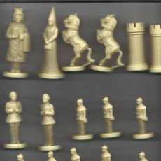 Juegos de mesa: ANTIGUO Y RARO JUEGO DE AJEDREZ DE FANTASIA EN CAJA SIN TAPA VER FOTOS. Lote 179065518