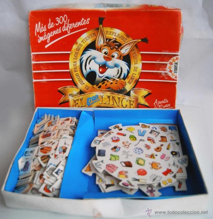 El Gran Lince De Educa Ano 1992 Comprar Juegos De Mesa Antiguos En