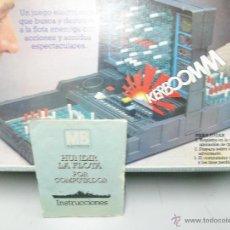 Juegos de mesa: HUNDIR LA FLOTA POR COMPUTADOR MB - AÑOS 80. Lote 54815035