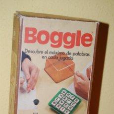 Juegos de mesa: JUEGO DE MESA - BOGGLE - BORRÁS - AÑOS 80. Lote 112432334