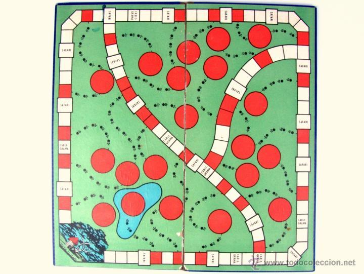Juegos de mesa: SAFARI - JUEGOS CRONE - AÑOS 50' (TABLERO DE JUEGO) - Foto 3 - 41296165