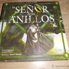 Juegos de mesa: EL SEÑOR DE LOS ANILLOS JUEGO DE DEVIR COMPLETO COMO NUEVO SOLO ABIERTO. Lote 41364300