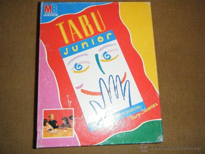 Tabu Tabu Junior Juego De Mesa De Hasbro Comprar Juegos De Mesa