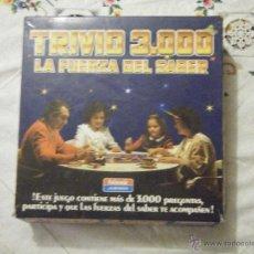 Juegos de mesa: ``JUEGO DE MESA TRIVIO 3000 LA FUERZA DEL SABER DE FALOMIR````. Lote 41391001